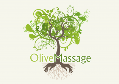 Olive Massage Logo Design