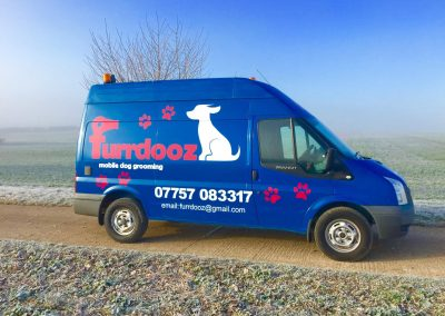Furrdooz Vehicle Signage