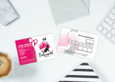 Dolcoath Dogs Business Card Design