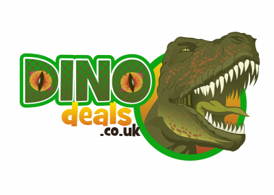 Dino Deals Logo Design