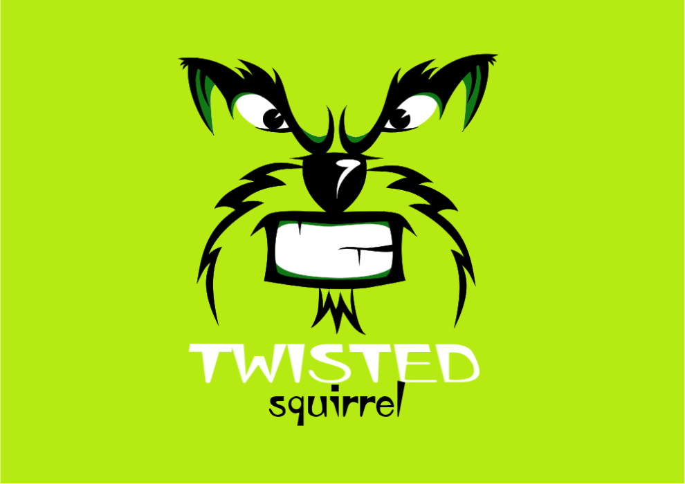 Twisted Squirrel Logo Design