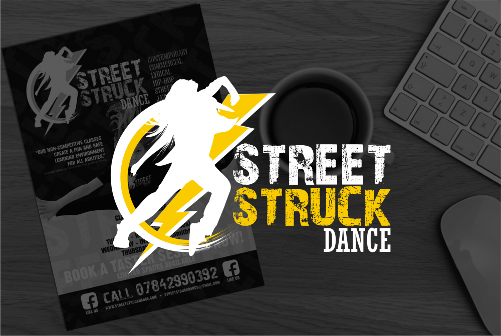 Street Struck Dance Logo Design