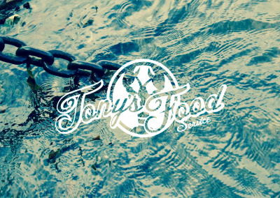 Tony's Food Service Logo Design