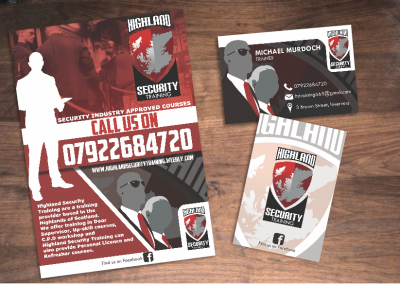 Highland Security Training Branding