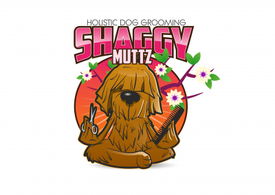 Shaggy Muttz Logo Design