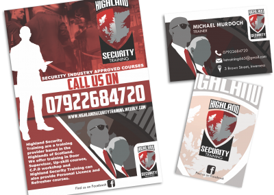 Highland Security Training Branding Assets