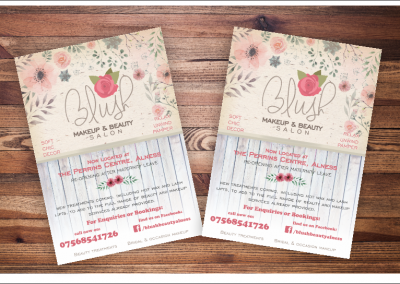 Blush Beauty Flyer Design