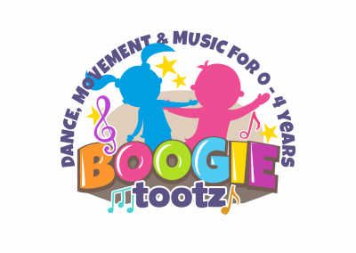 Logo design for Boogie Tootz, designed by Highland Graphics