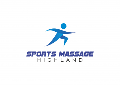 Sports Massage Highland Logo designed by Highland Graphics