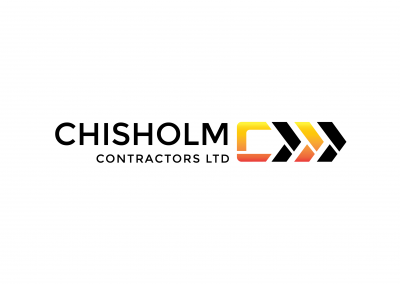ChisholmContractingLogo_FINAL (side by side) (white)-01